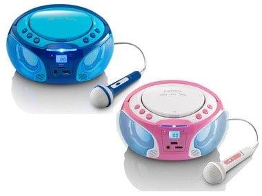 Lenco CD přehrávač s funkcí karaoke stereo SCD-650