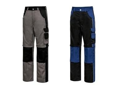 POWERFIX® Pánské pracovní kalhoty s odepínacími nohavicemi