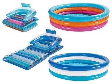 CRIVIT® Dětský bazének / nafukovací lehátko