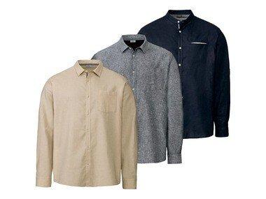 LIVERGY® Pánská lněná košile XXL