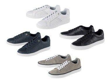 LIVERGY® Pánská volnočasová kožená obuv