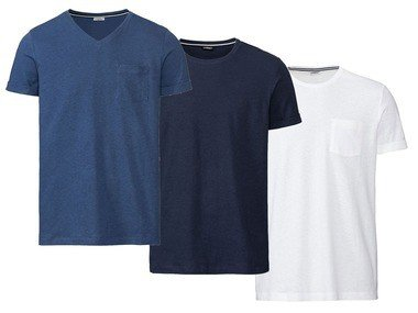 LIVERGY® Pánské lněné triko