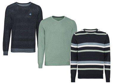 LIVERGY® Pánský jemně pletený svetr