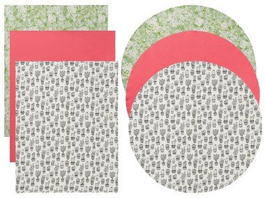 MERADISO® Ubrus kulatý Ø 160 cm / hranatý 130 x 160 cm