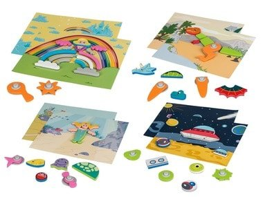 PLAYTIVE®JUNIOR Magnetické puzzle