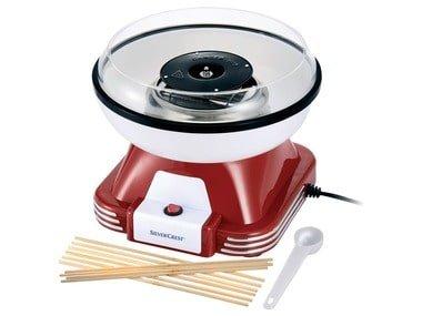 SILVERCREST® Stroj na cukrovou vatu SZM 500 A1