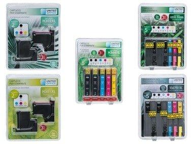 UNITEDOFFICE® Inkoustové náplně HP - Multipack