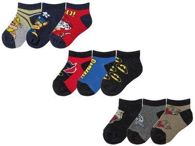Chlapecké nízké ponožky