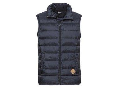 LIVERGY® Pánská prošívaná vesta (48