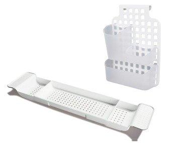 MIOMARE® Odkládací polička na vanu / Regál do sprchy