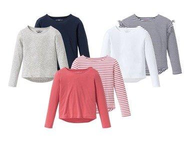 PEPPERTS® Dívčí triko s dlouhými rukávy BIO