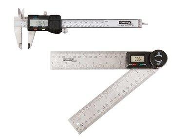 POWERFIX® Digitální posuvné měřítko / úhloměr