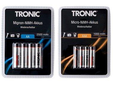 TRONIC® Baterie Ni-MH