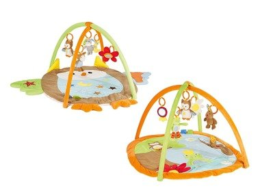 LUPILU® Dětská hrací deka s hrazdičkou
