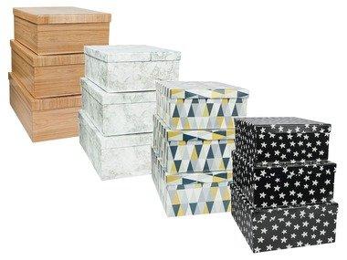 MELINERA® Sada kartonových boxů