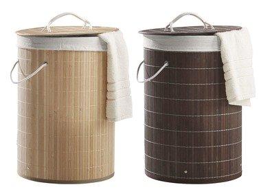 MIOMARE® Bambusový koš na prádlo