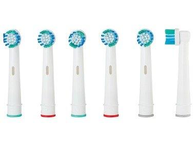 NEVADENT® Náhradní nástavce na zubní kartáček NZK 6 A1