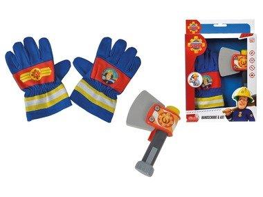 Simba Požárník Sam – hasičské rukavice a sekerka
