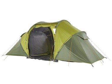 CRIVIT® Zatemněný stan pro 4 osoby se 2 ložnicemi