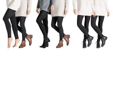 ESMARA® Dámské termo legíny a punčochové kalhoty