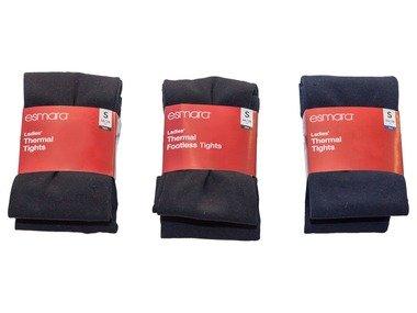 ESMARA® Dámské termo legíny / punčochové kalhoty
