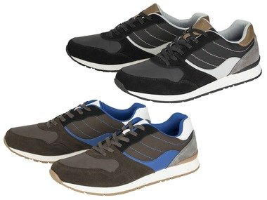 LIVERGY® Pánská kožená obuv Air & Fresh