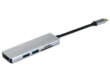 SILVERCREST® USB multi adaptér 1 SUHL 2 A