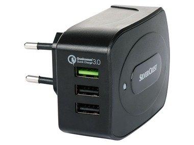 SILVERCREST® USB nabíječka s Quick Charge SLQC 3.0 A1