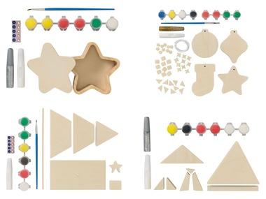 CRELANDO® Dřevěná kreativní sada