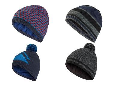 CRIVIT® Chlapecká pletená čepice