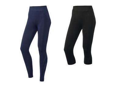 CRIVIT®PRO Pánské funkční bezešvé spodní kalhoty s příměsí Merino vlny