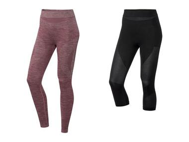 CRIVIT®PRO Dámské funkční bezešvé spodní kalhoty s příměsí Merino vlny