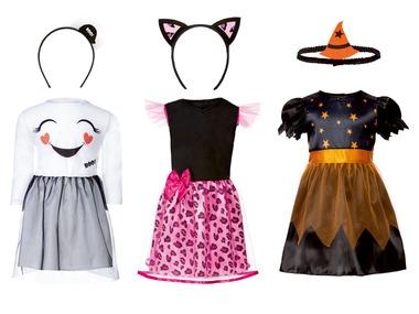 Dívčí kostým na Halloween