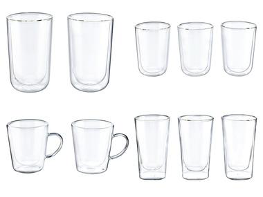 ERNESTO® Sada termo sklenic na latte macchiato / cappuccino / čaj