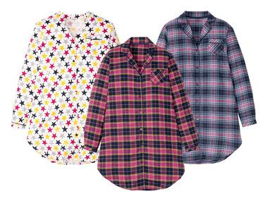 ESMARA® Dámská flanelová košile na spaní