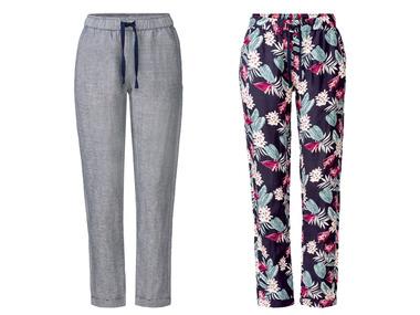 ESMARA® Dámské lněné kalhoty