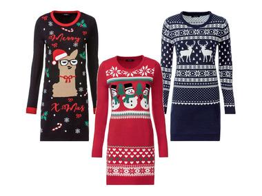 ESMARA® Dámské pletené vánoční šaty