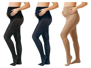 ESMARA® Těhotenské punčochové kalhoty, 3 kusy