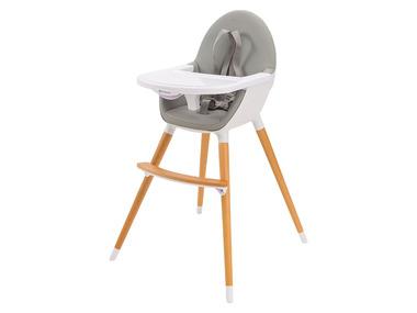 Kinderkraft Dětská jídelní židlička 2 v 1