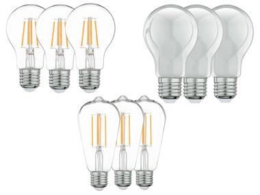 LIVARNOLUX® Filamentové LED žárovky