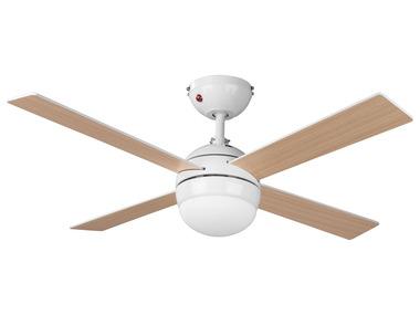 LIVARNOLUX® Stropní ventilátor s LED svítidlem a dálkovým ovládáním