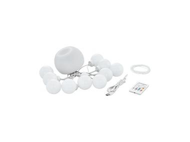 LIVARNOLUX® Venkovní LED řetěz s reproduktorem Bluetooth