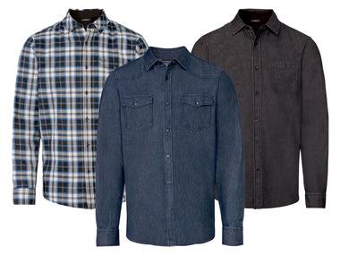 LIVERGY® Pánská volnočasová / džínová košile