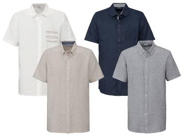 """LIVERGY® Pánská lněná košile """"Regular Fit"""""""