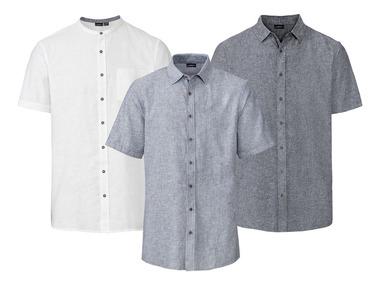 LIVERGY® Pánská lněná volnočasová košile