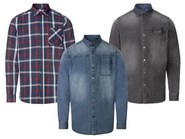 LIVERGY® Pánská volnočasová košile