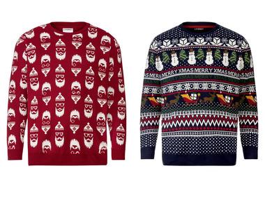 LIVERGY® Pánský vánoční svetr XXL