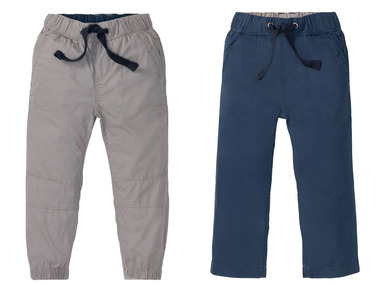 LUPILU® Chlapecké cargo kalhoty BIO
