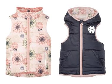 LUPILU® Dívčí prošívaná vesta