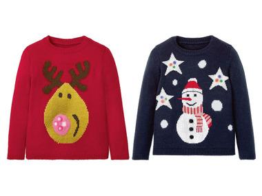 LUPILU® Dívčí vánoční svetr